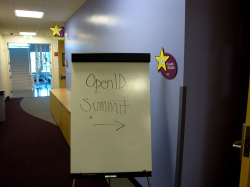 From the OpenID Summit, 11/02/09
