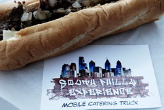 South Philly Experience Food Truck - Philly Cheesestake Sandwiches