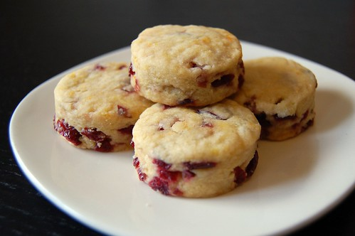 Cranberry Orange Mini Scones