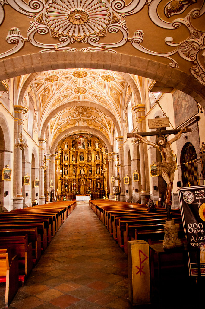 The Nave, Santo Domingo, Puebla