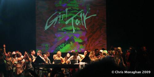 Girl Talk @ Rothbury 2009