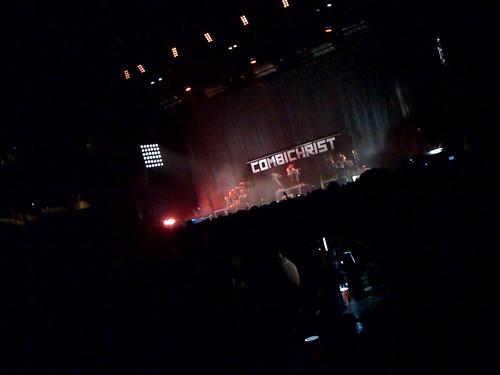 Combichrist - 1ère partie de Rammstein #Antwerpen