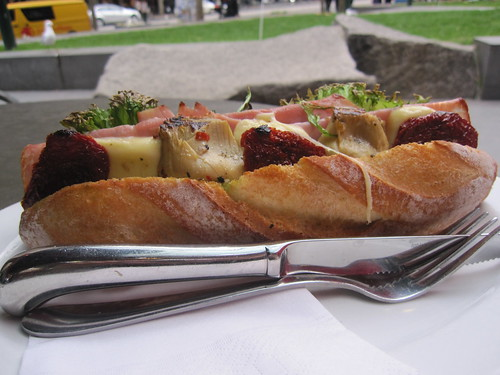 Ham & Artichoke Filone
