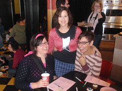Queens of Clintonville:  Olivera (Wholly Craft), Amy (Amy D) and Jenni (Pattycake)
