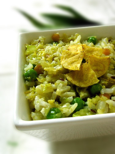 Cabbage Rice | Cabbage Rice Recipe