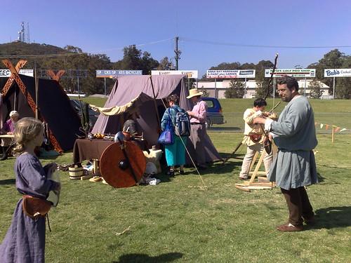 Huscarls encampment