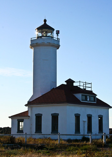 Lighthouse @ Fort Worden, WA