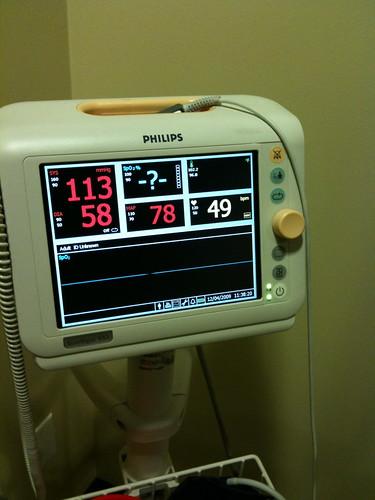Blood pressure checks are a new ritual
