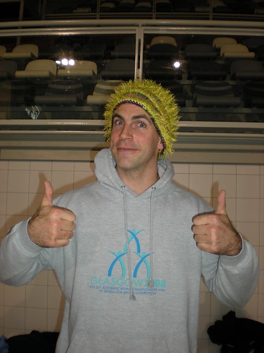 Not me, but it is my hat. (Not Scott either, sorry)