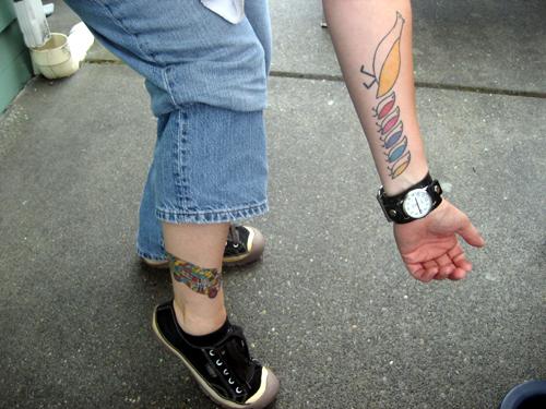 Partridge Family tattoos!