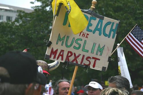 Impeach the Muslim Marxist!