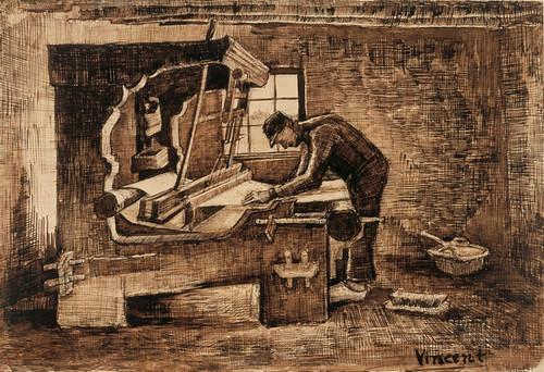 Van Gogh Il tessitore