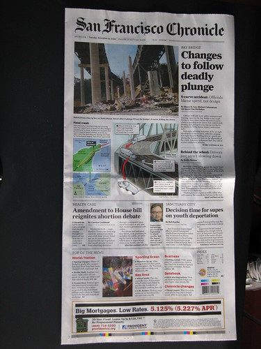 SF Chronicle - Front Page