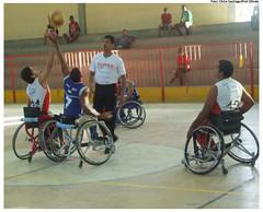 I Festival esportivo e cultural para pessoa idosa e pessoa com deficiência, realizado em 2009. Foto: Chico Santiago/Pref.Olinda