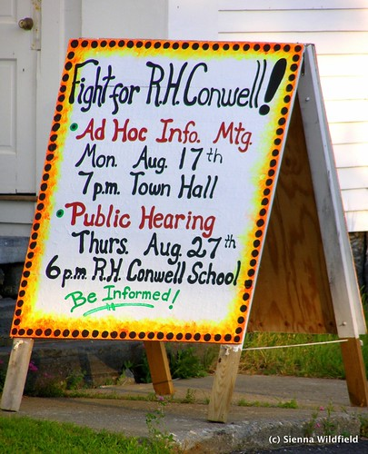Fight for R. H. Conwell School (Worthington, MA)