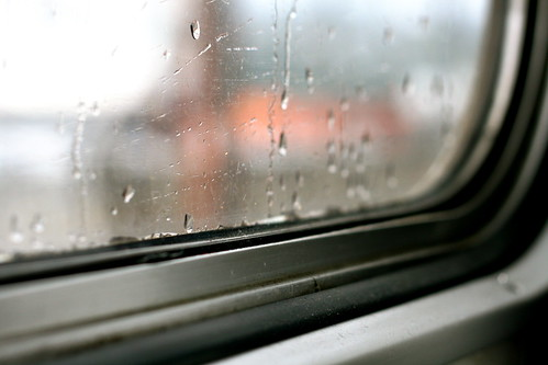 Tuesday: Rain on the Train