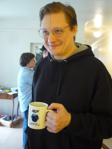 Shamus and the mug
