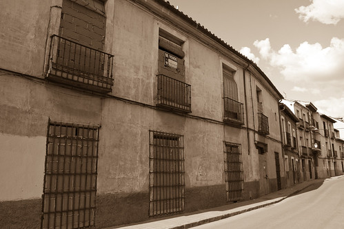 Edificio abandonado en la calle Cardenal Tenorio