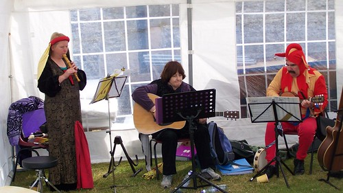 The mediaeval players