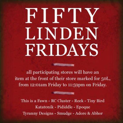 50L Fridays: Week 4
