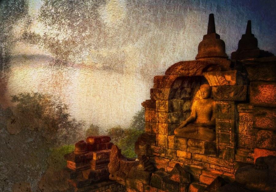 A Zen Moment above the Fog
