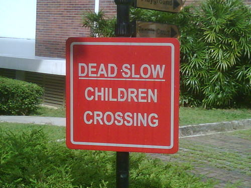 Dead Slow Children Crossing
