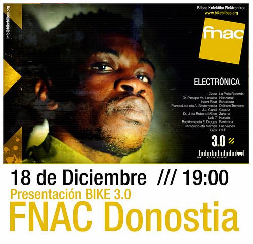 Bilbao Kolektibo Elektronikoa presenta 3.0 en la FNAC de Donostia