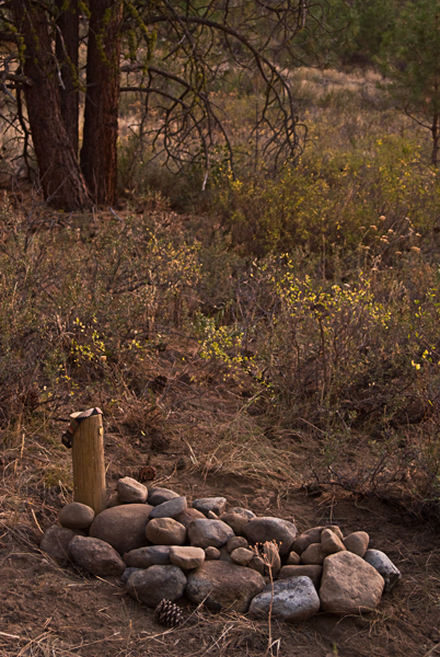 Hawkeye's grave