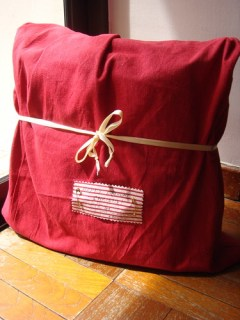 Drawstring Gift Bag - Front
