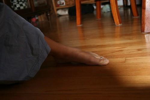 Yoga foot