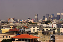 Bangkok Chatuchak District from the Apartment (EOS-300D)