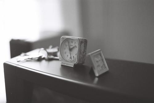 Quand le temps s'arrête : clock