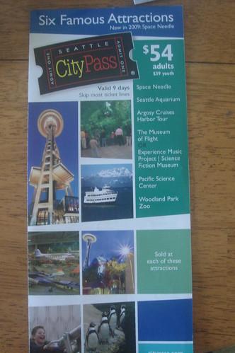 Seattle City Pass 1