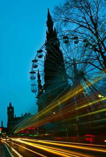 The wheel at dawn