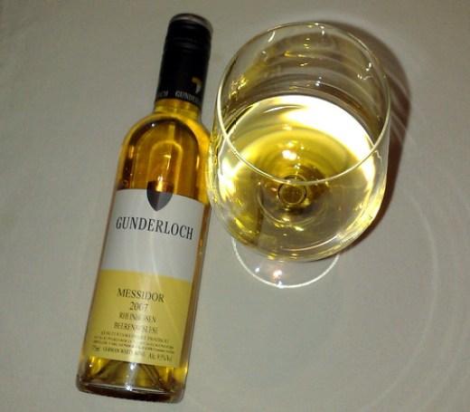 2007 Messidor Beerenauslese vom Weingut Gunderloch