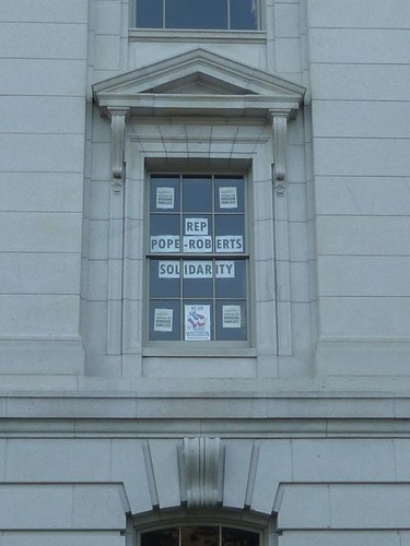 WI, Madison 3 - Capitol Window Messages