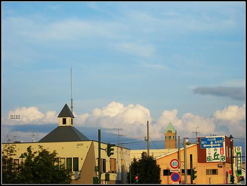 sky of Biei