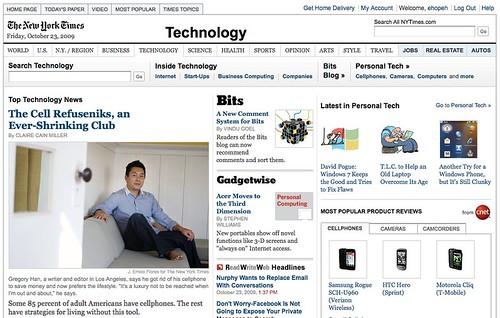 My NY Times appearance