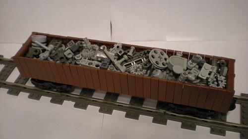 LEGO Gondola with scrap