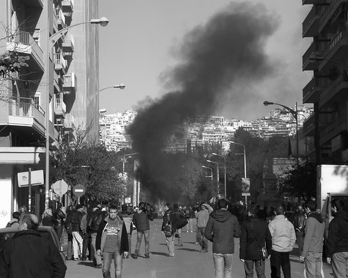 Previously unpublished photos from the demonstrations in Thessaloniki on December 2008, over the murder of 15 year old Alexandros Grigoropoulos by police