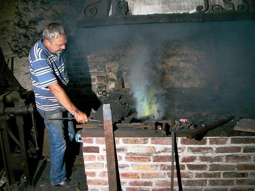 Allumage de la forge