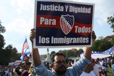Justice and Dignity for All Immigrants.