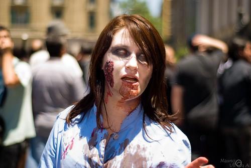 Female Zombie.