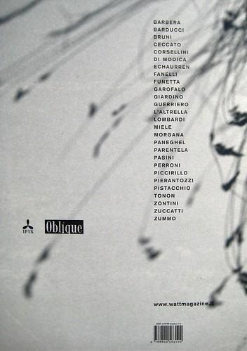 WATT http://www.wattmagazine.it/, 19