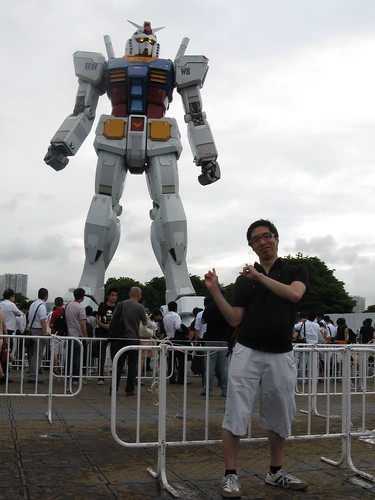 Gundam and I, Odaiba, July 2009