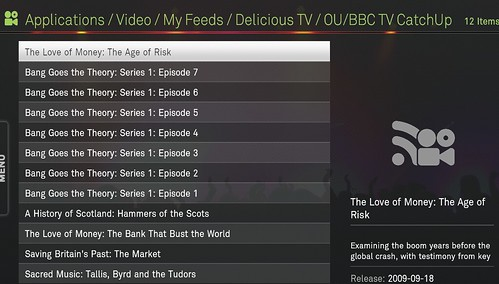 BBC/OU on DeliTV - http://pipes.yahoo.com/ouseful/bbcouiplayer
