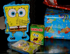 CSP's presents were Spongebob themed this year