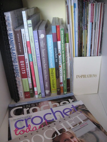 Some of the crochet library by you.