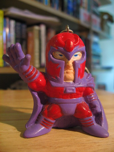 Magneto - Keychain Superhero Villain