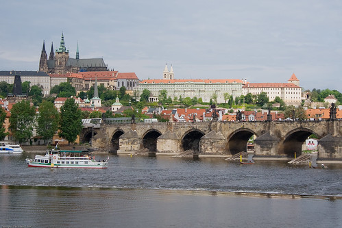 Karlův most (Charles Bridge) and Pražský Hrad (Prague Castle) by you.